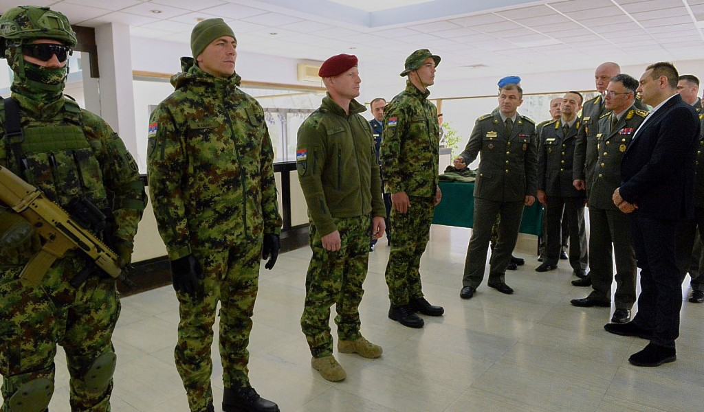 New uniforms for the members of the Serbian Armed Forces presented