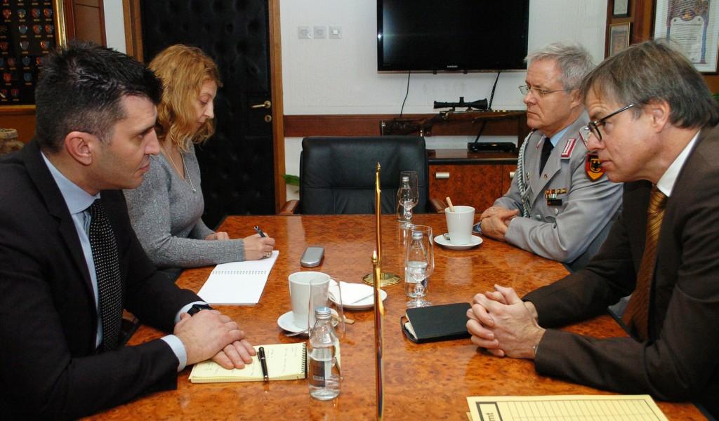 Састанак министра Ђорђевића и амбасадора Дитмана
