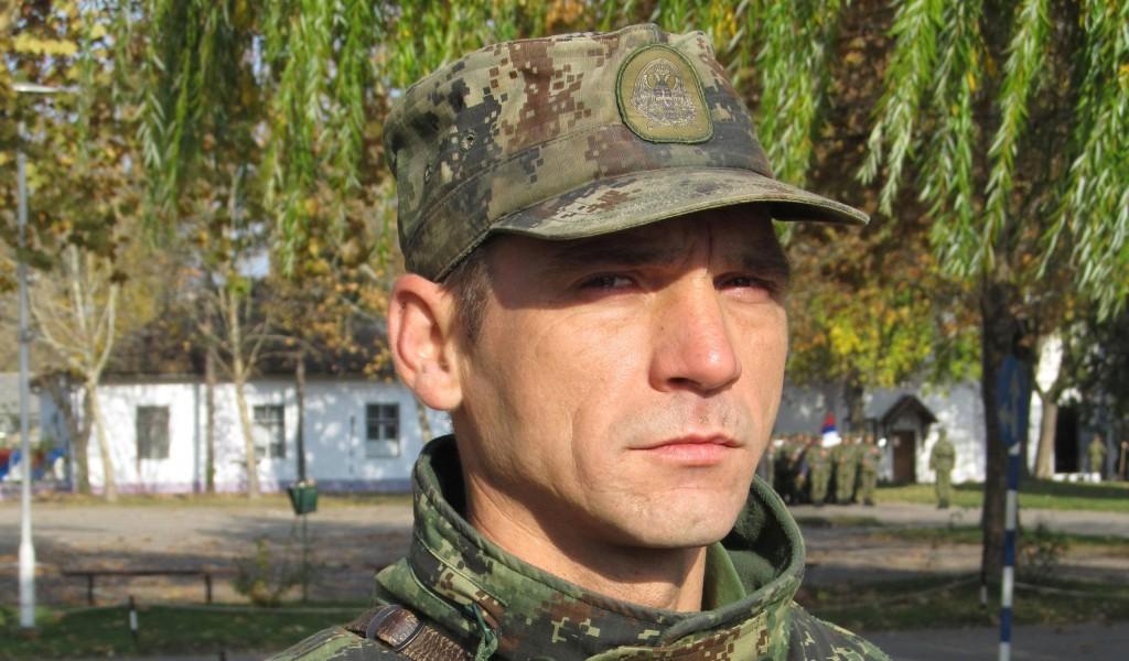 Храброст старијег водника Ивана Ристића достојна дивљења