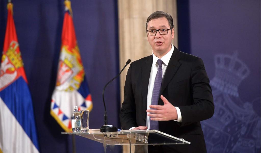 Predsednik Vučić Srbija je posvećena očuvanju mira