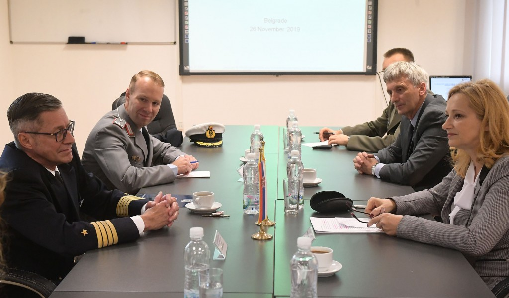 Visit of the delegation of the Center for Military History and Social Sciences of the Bundeswehr
