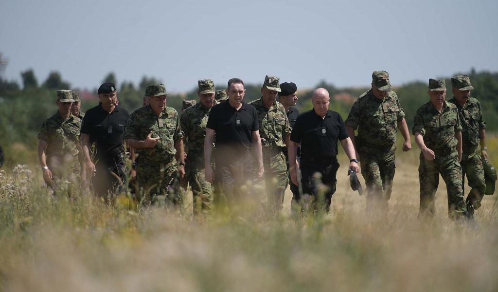 Годину дана ангажовања Заједничких снага Војске и полиције