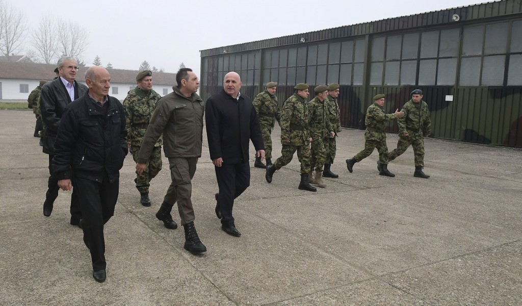 Minister Vulin The Serbian Armed Forces would not retreat or downsize