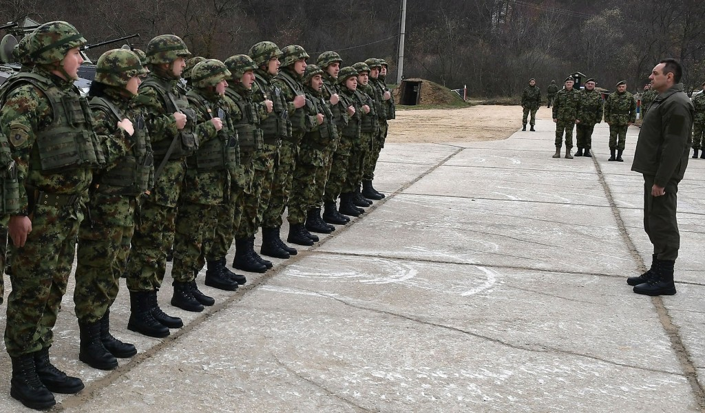 Minister Vulin The Serbian Armed Forces fully controls the situation in the Ground Safety Zone