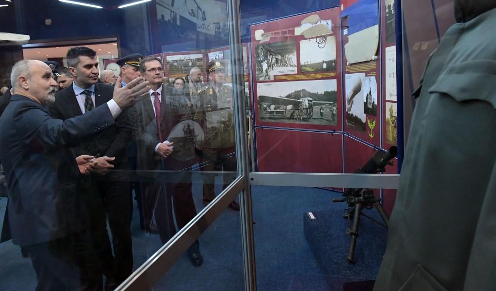 Отворена изложба Српска авијатика у Великом рату 1914 1918 у Музеју ваздухопловства
