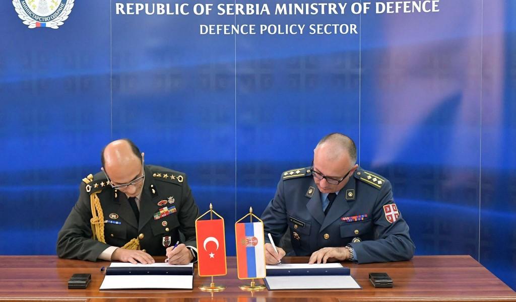 Потписан План билатералне војне сарадње са Турском