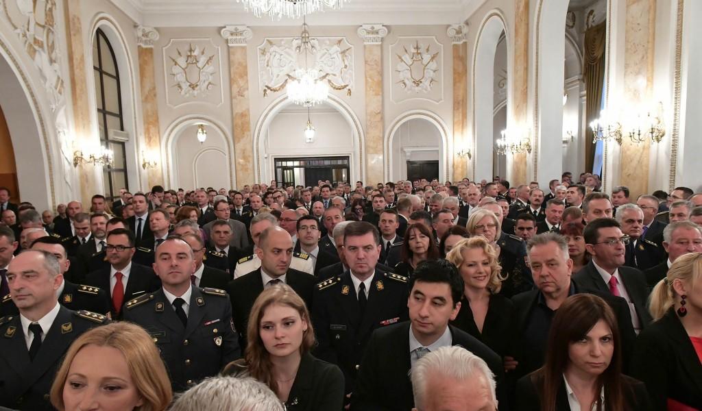 Prijem povodom Dana Vojske Srbije