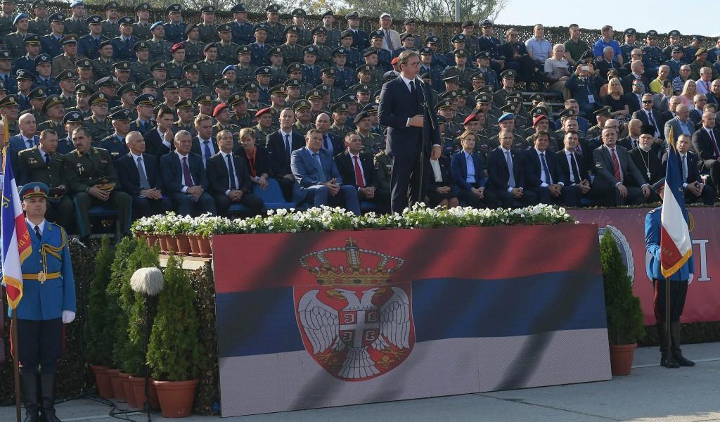 Приказ способности Војске Србије Слобода 2019