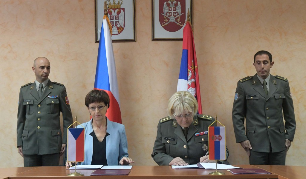 Cooperation of the Ministry of Defence and Czech Development Agency