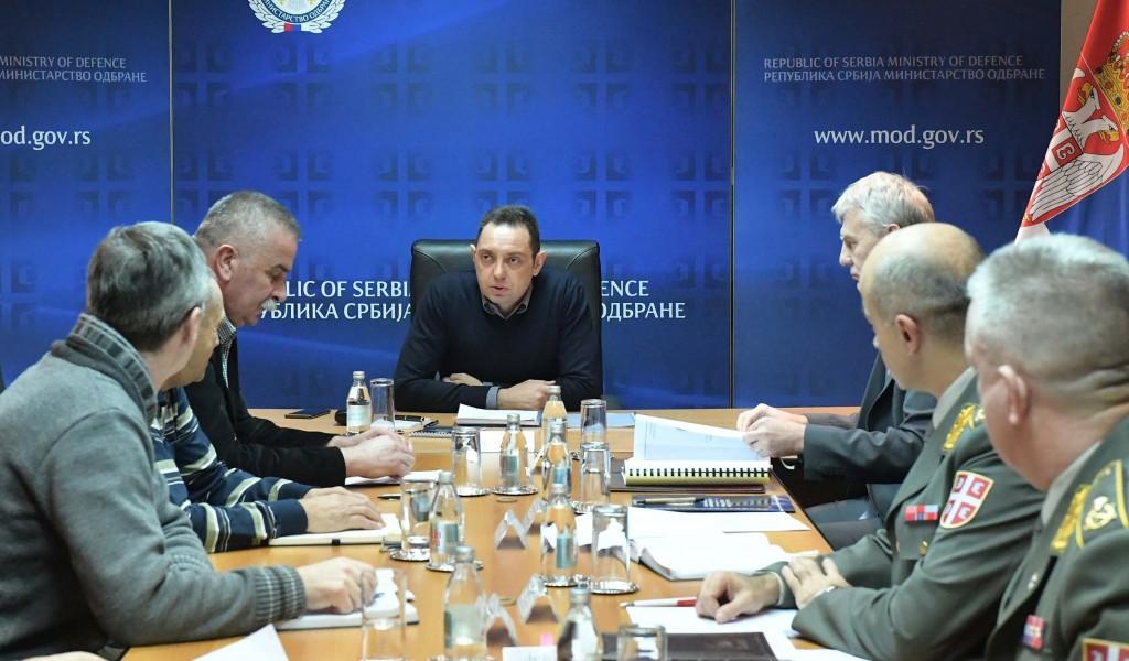 Састанак са представницима Самосталног синдиката металаца Србије