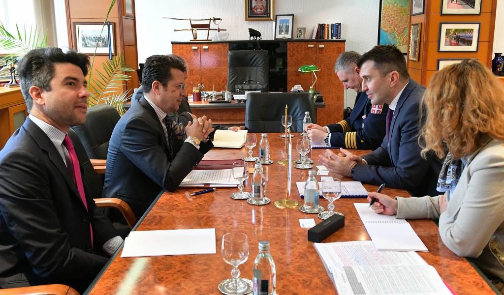 Сарадња Министарства одбране и Мисије ОЕБС а у Србији