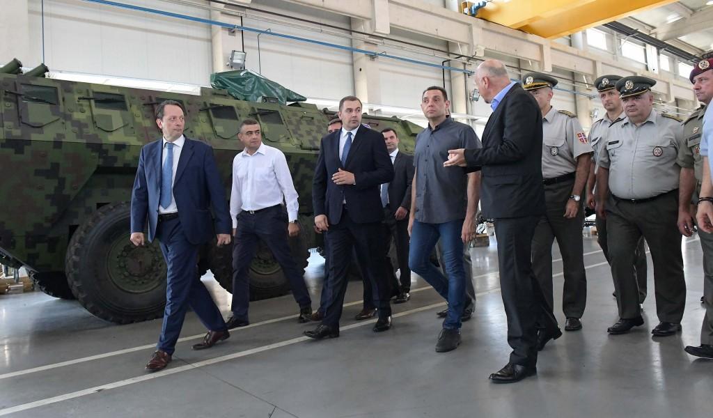 Савремена наменска индустрија гарант војне неутралности Србије