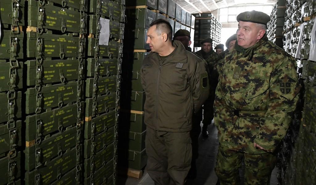 Министар Вулин Логистичке јединице спремне да испрате сваку потребу своје војске