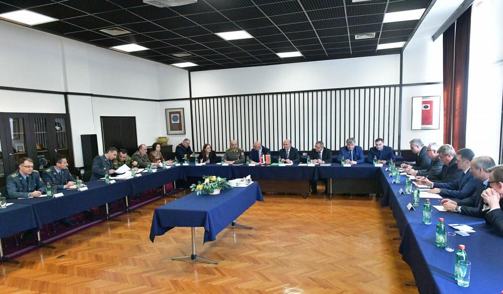 Посета високе делегације белоруског Државног војно индустријског комитета