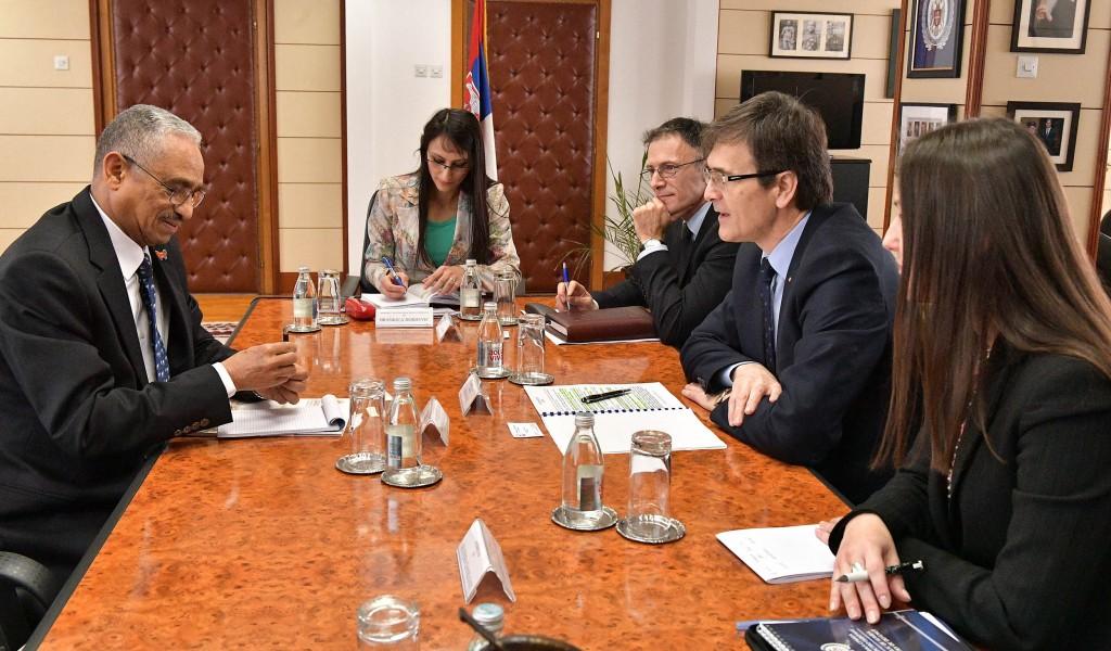 Састанак државног секретара Нерића са амбасадором Еритреје