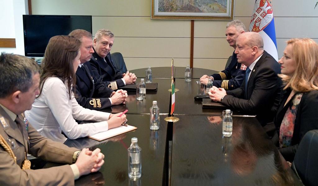 Poseta predstavnika italijanskog Vojnog centra za strategijske studije