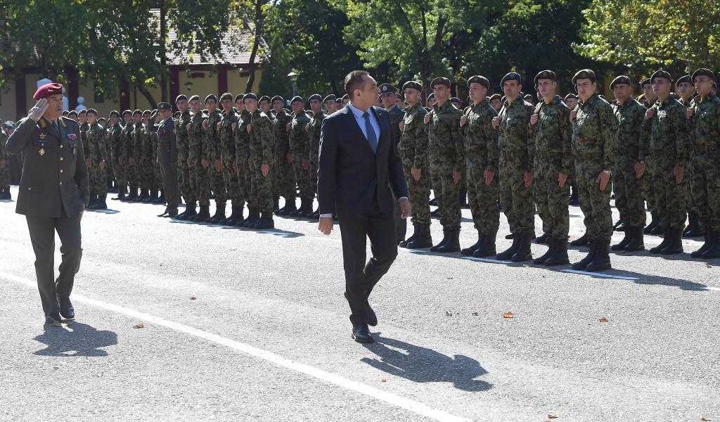 Ministar Vulin Vojska je naš bedem od svakog zla zločina i oluje