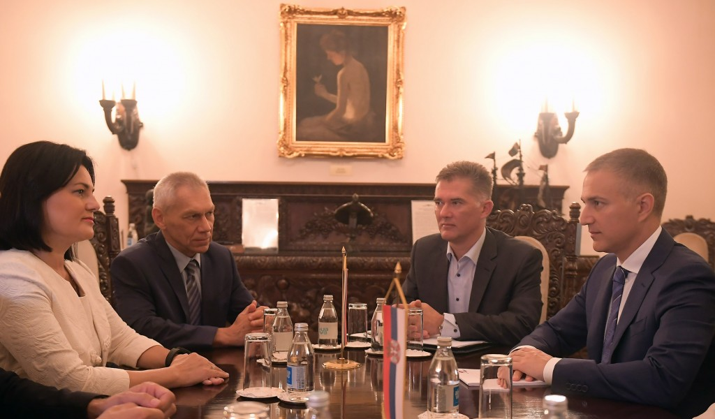 Minister Stefanović meets with Russia s Deputy Minister of Defence Shevtsova