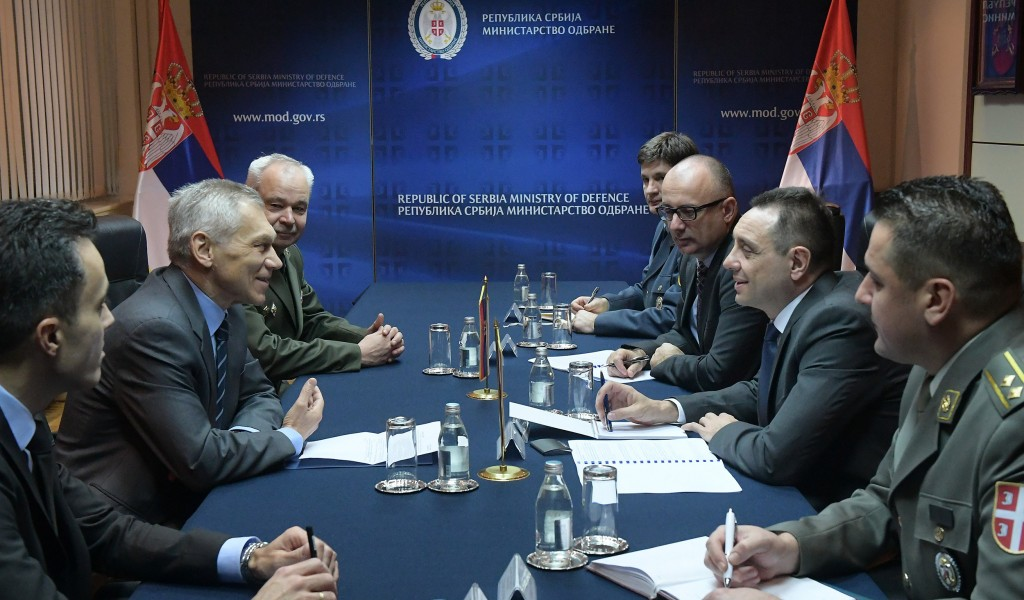 Minister Shoygu confirms his visit to Serbia