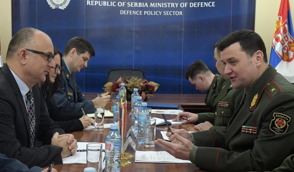 Билатералне одбрамбене консултације министарстава одбране Србије и Белорусије