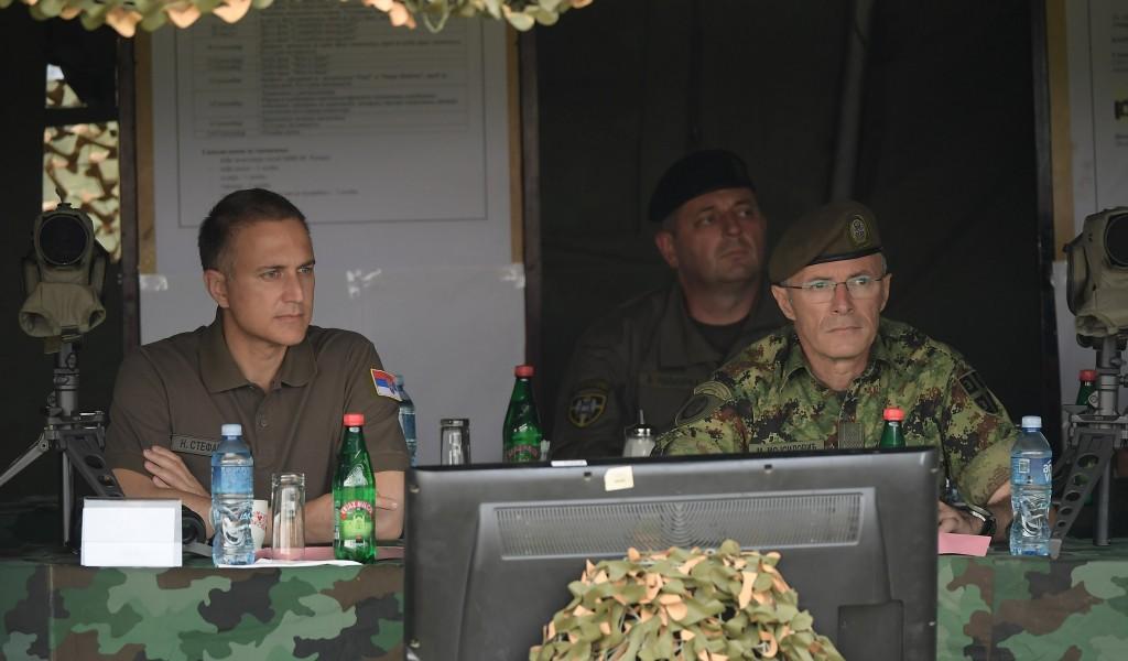 Minister Stefanović observes preparations for International Army Games