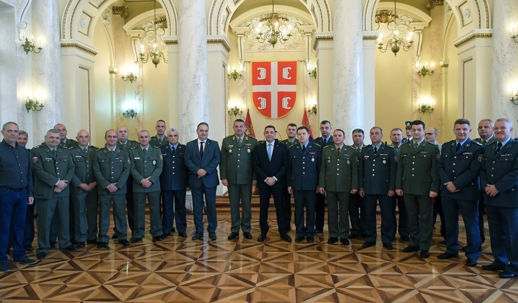 Minister Vulin The Ministry of Defense and the Serbian Armed Forces take care of the existential issues of their members