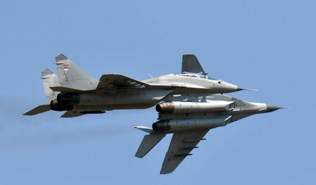 MiG 29 A guarantee of the sovereignty of our sky