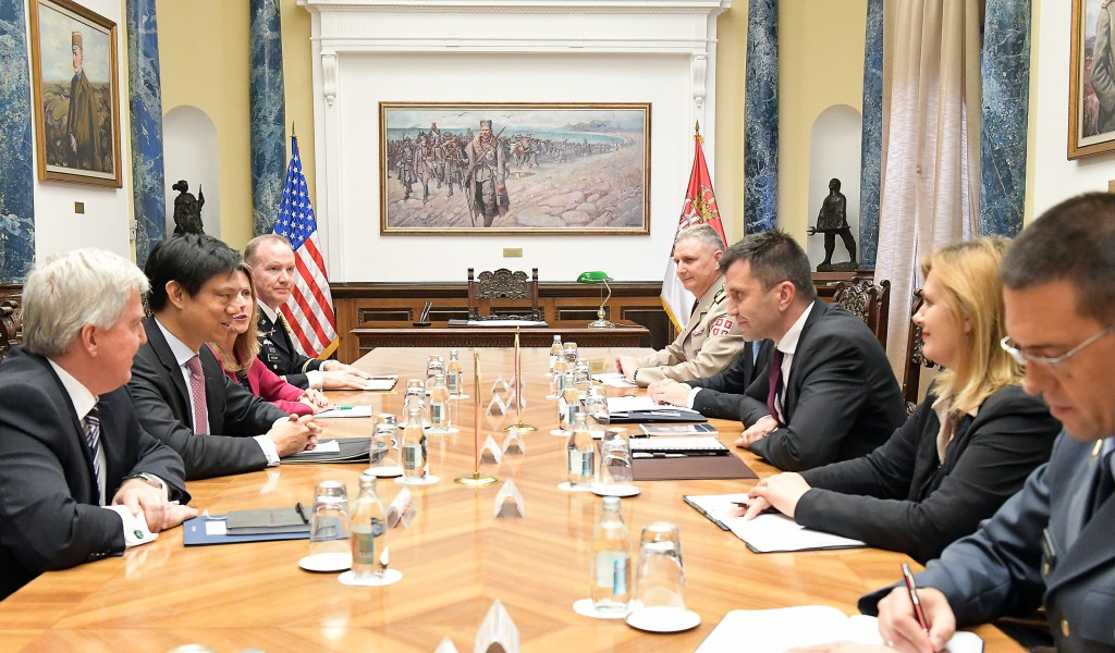 Потврда добре сарадње Србије и САД