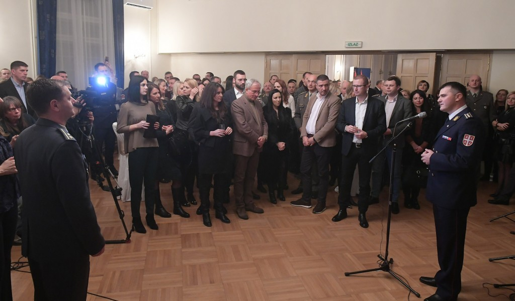 New Year s reception of the Public Relations Department