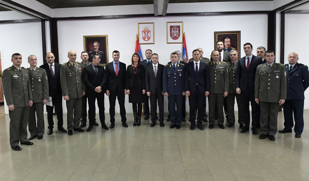 Commencement of studies for the 6th class of Advanced Security and Defence Studies