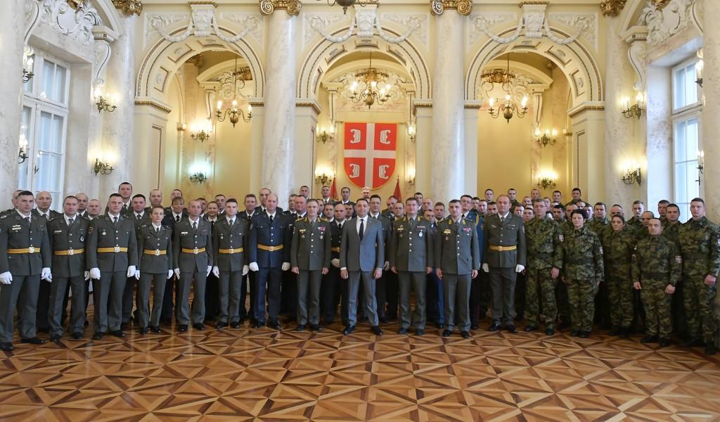 Prijem 78 podoficira i vojnika u profesionalnu vojnu službu na neodređeno vreme