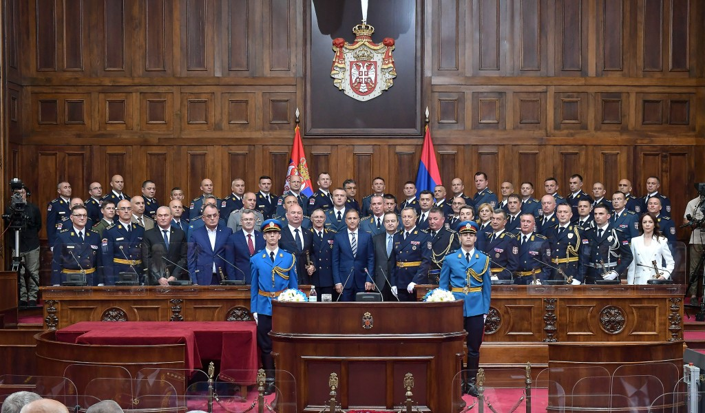 Stefanović Those who mind the Serbian soldier do not desire a strong Serbia