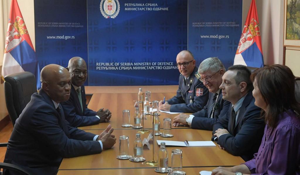 Састанак министара одбране Србије и Кабо Вердеа