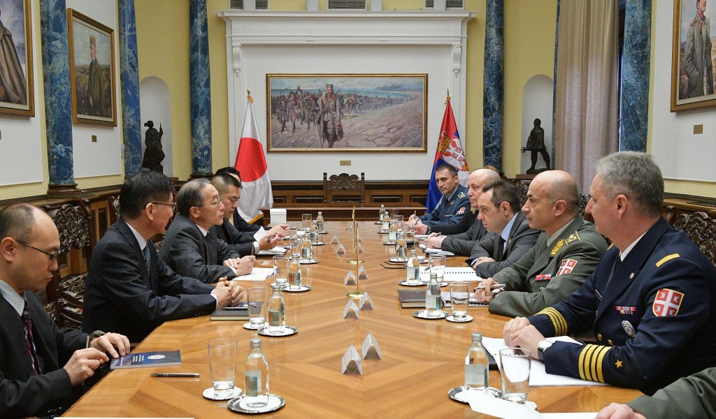 Revitalisation of Defence Cooperation with Japan