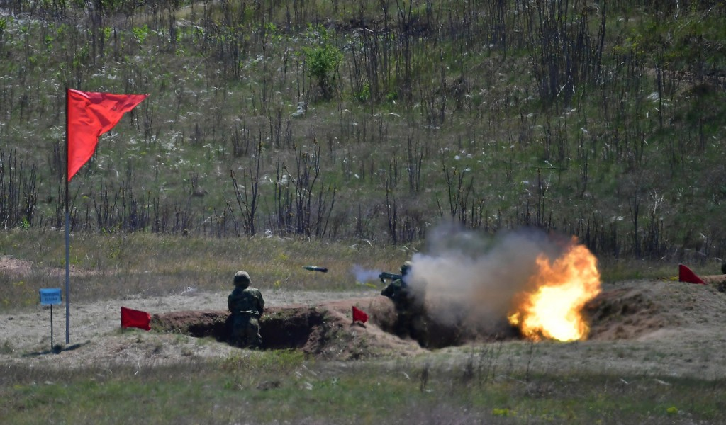 The March generation of soldiers successfully fired from 64 mm M80 hand held rocket launchers