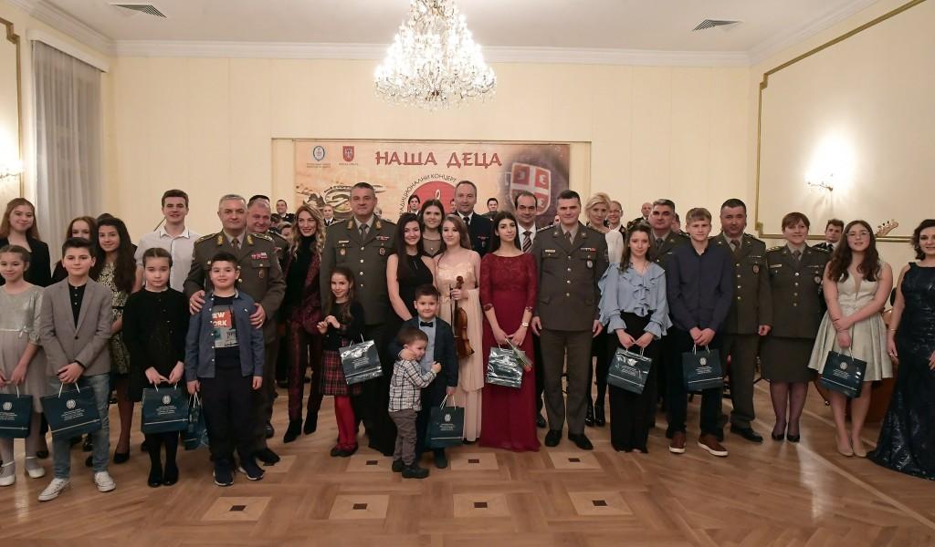 Koncert Naša deca održan večeras u Domu Vojske