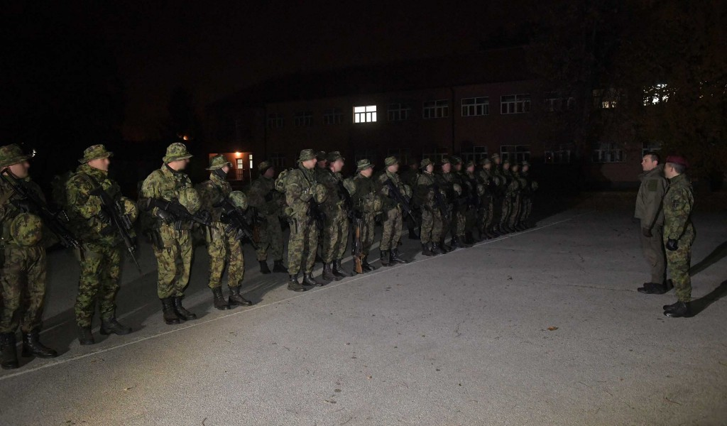 Minister Vulin High level of training and dedication of the members of the 63rd Paratrooper Battalion