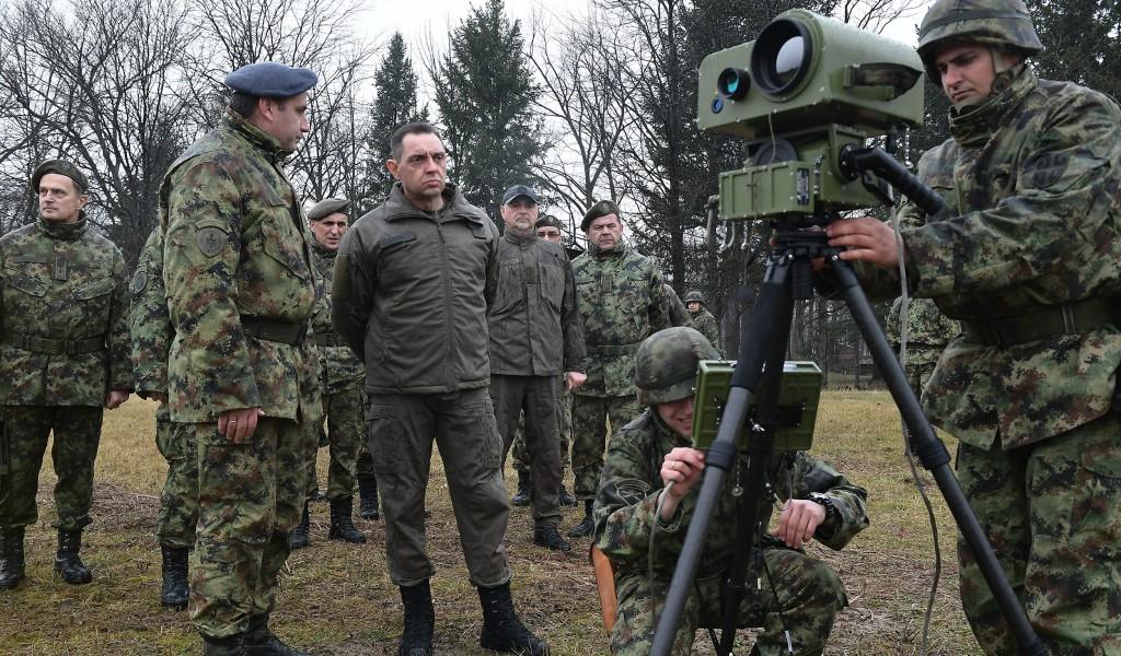 Ministar Vulin Modernizacijom jačamo rod artiljerije