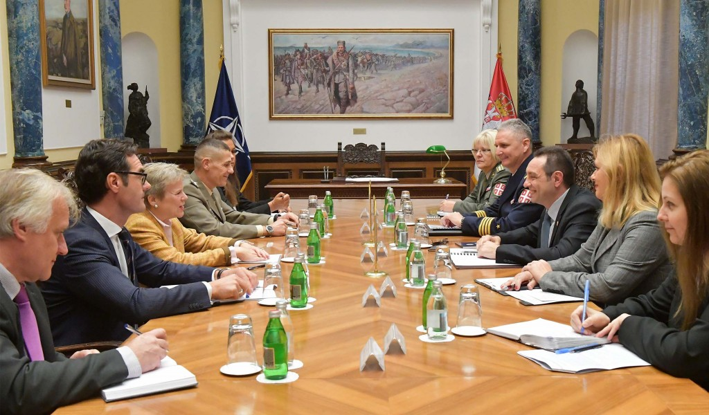 Minister of Defence meets NATO Deputy Secretary General