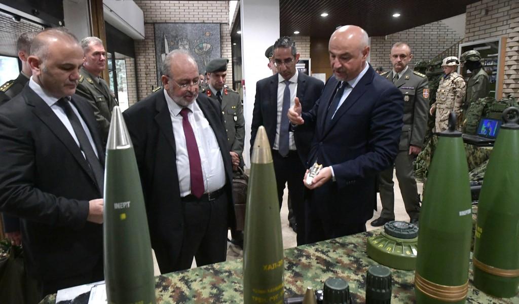 Ministar odbrane Republike Kipar posetio Vojnotehnički institut