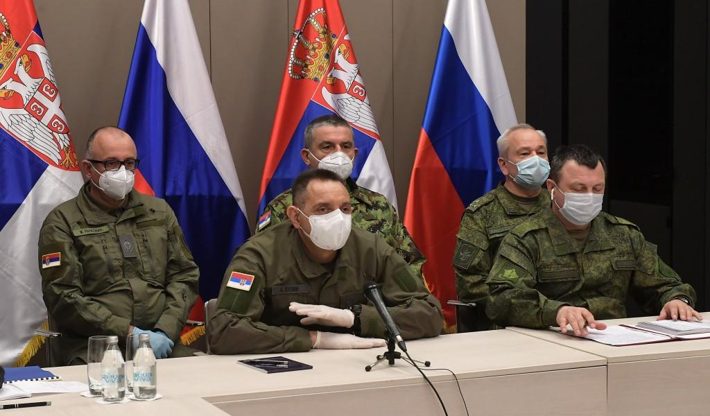 Видео конференција министара Вулина и Шојгуа Помоћ руских експерата стигла кад је најпотребнија