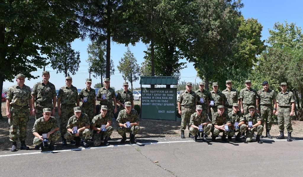Завршетак добровољног служења војног рока генерације март 2017