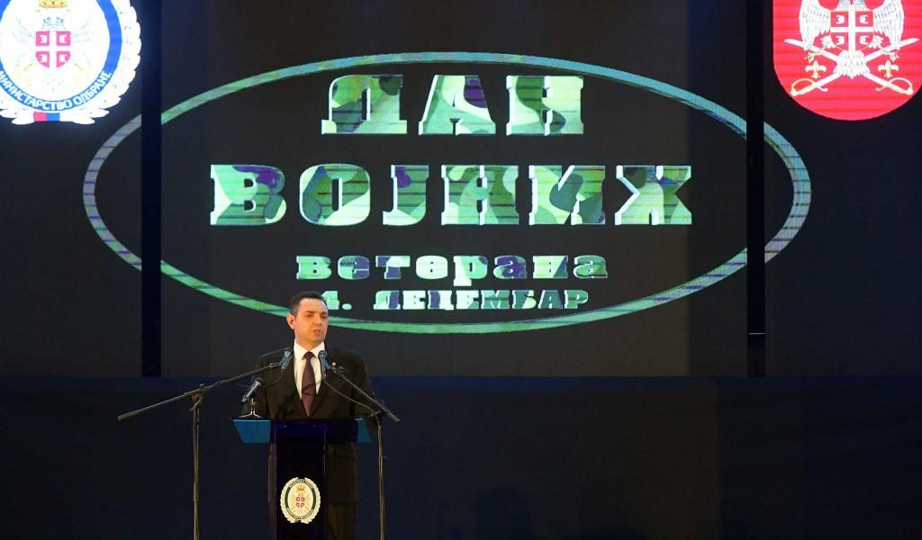 Ministar Vulin Ratnici zemlja koju ste sačuvali ponosna je na vas