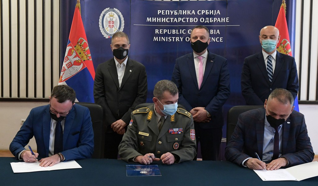 Aircraft engine overhaul contract signed with a company from Republika Srpska