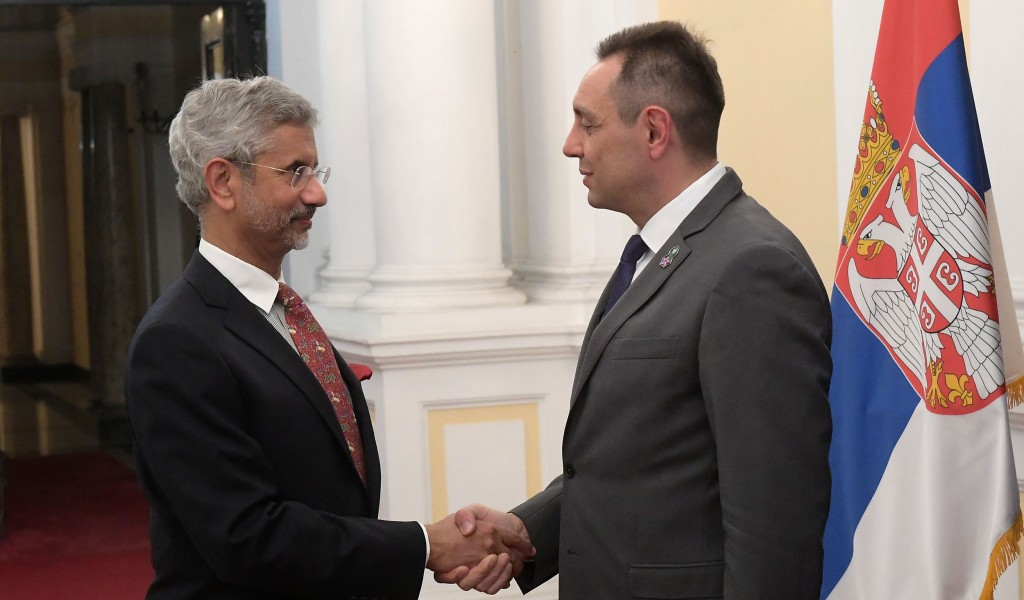 Sastanak ministra Vulina i indijskog ministra spoljnih poslova Džaišankara