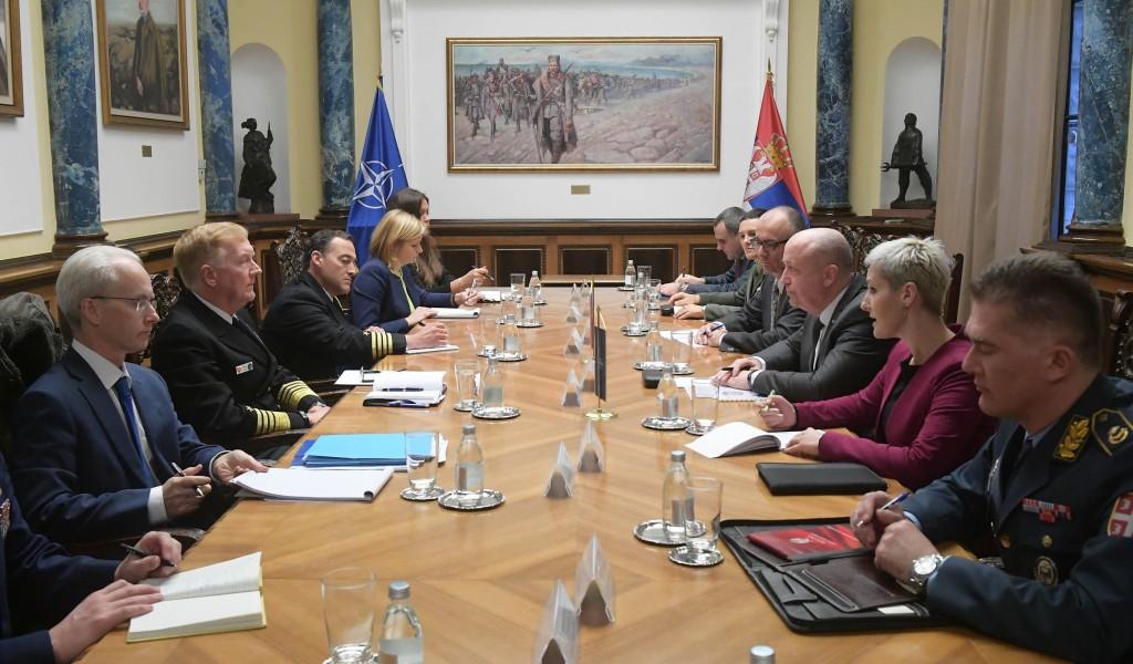 Састанак државног секретара Живковића са адмиралом Фогом