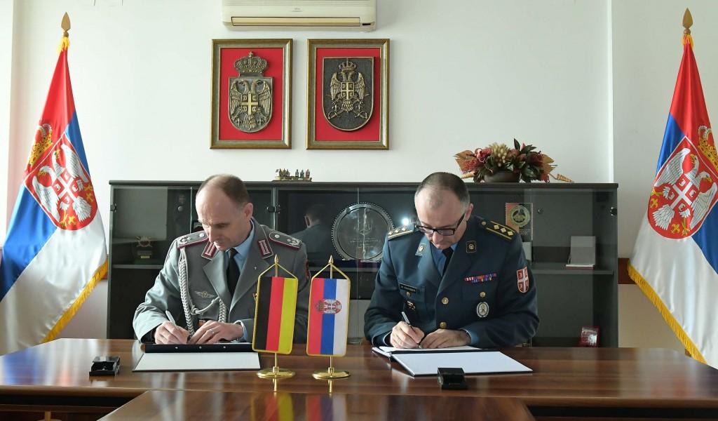 Потписан План БВС са СР Немачком