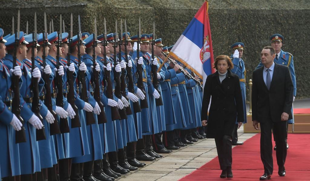Sastanak ministara odbrane Srbije i Francuske