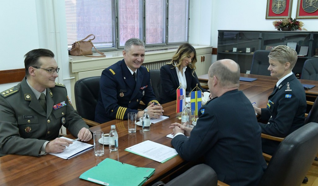 Improving the partnership cooperation with the Kingdom of Sweden
