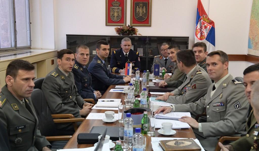 Експертски разговори са представницима Команде Здружених снага у Напуљу